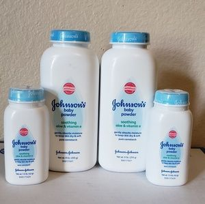 *LAST CHANCE* Lot of Johnson's Baby Powder